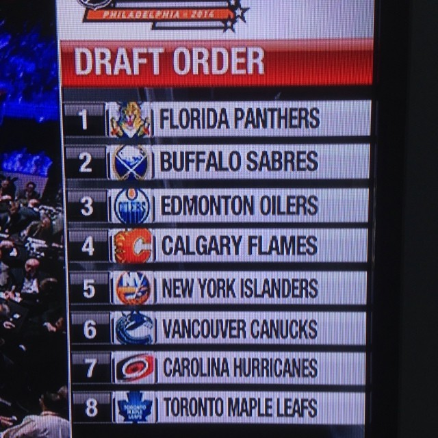 Here we go #nhldraft2014 #nhldraft